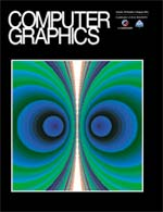 Siggraph's Computer Graphics Quarterly Cover