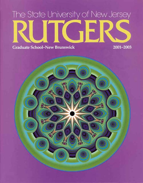 Picture of the 2001-2003 Rutgers University Graduate Catalog